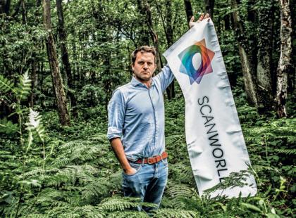 Le Dr Guerric de Crombrugghe, General Manager de la startup belge ScanWolrd © Debby Termonia